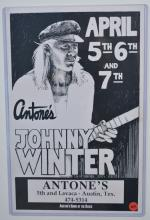 Poster: Illustrated, Antone's Johnny Winter