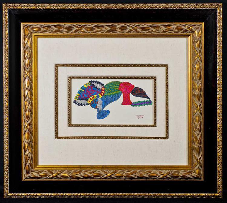Jimi Hendrix Original Artwork: