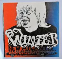 Handbill: Johnny Winter Portrait