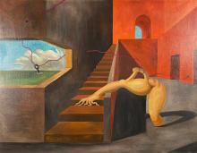 Marc Eemans (Belgian, 1907 - 1998), La Complexe Habitude