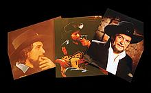 Six Assorted Color Photographs of Waylon Jennings