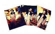 Five Color Photos of Waylon in a Custom Manuel Duster