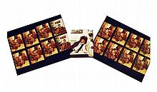 Assorted Photographic Contact Prints of Jessi Colter by Billy Mitchell