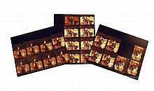 Twenty-five Photographic Contact Prints of an Elegant Jessi Colter