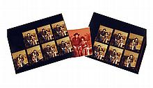 Fourteen Photographic Contact Prints of Jessi and Waylon