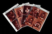 Twelve Contact Prints of Waylon at Home