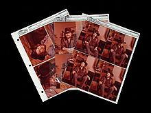 Nine Photographic Contact Prints of Waylon Jennings