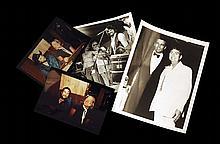 Four Vintage Photographs of Waylon Jennings and Willie Nelson (Mostly Unpublished)