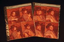 Eight Contact Prints of Waylon