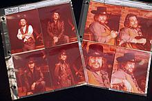 Eight Photographic Contact Prints of Waylon