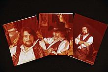 Three Unpublished Images of Waylon Jennings