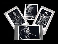 Five Unpublished Vintage Photographs of Willie Nelson