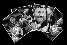 Five Vintage Photographs of Willie Nelson