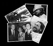 Twelve Vintage Photographs of Willie Nelson (Mostly Unpublished)