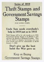 Thrift Stamps and Government Savings Stamps