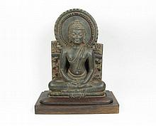 A PALA PERIOD SCULPTURE OF BUDDHA,