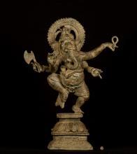 19th Century Standing Chola Style Ganesha