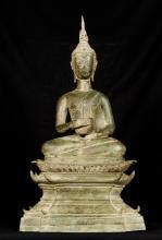 19th Century Laos Charity Gautama Buddha