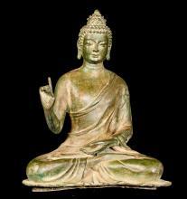 18th Century Chinese Teaching Buddha