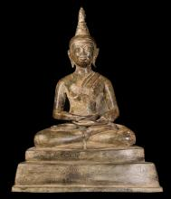 18th Century Enthroned Laos Buddha