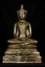 19th Century Ayutthaya Meditation Buddha