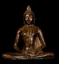 19th Century Sri Lanka Meditation Buddha
