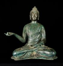 19th Century Antique Chinese Tarjani Buddha Statue - Ward Off Evil