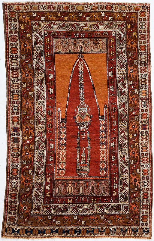 Tapis de pri re kars anatolie for Decoration quatre quart