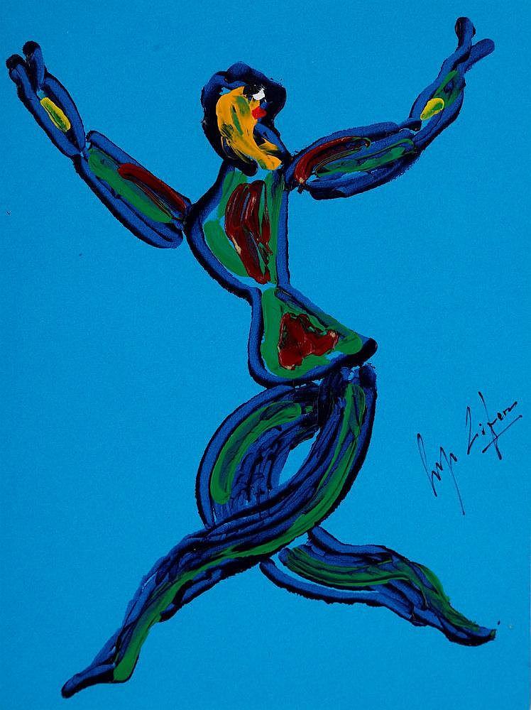 Serge Lifar (1904-1986), Etudes de mouvements,