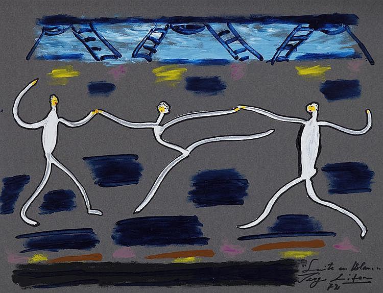 Serge Lifar (1904-1986), Danseurs, suite de 15