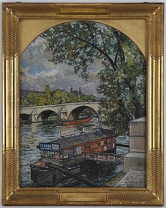 Alexandre Cingria (1879-1945), Pont-Royal à Paris,