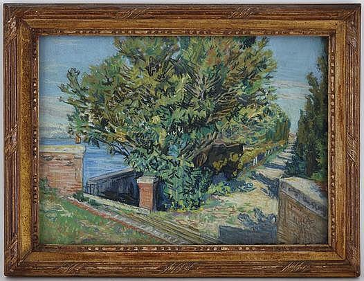 Alexandre Cingria (1879-1945), Paysage en bord de