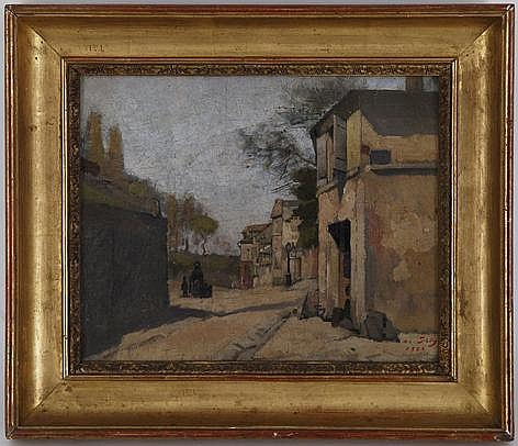 Jean Daniel Ihly (1854-1910), Rue de l'Abreuvoir,