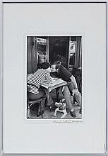 Henri Cartier-Bresson (1908-2004),  Boulevard Diderot, Paris , 1969, tirage argentique, estampillé et signé au stylo, 35,5x24 cm