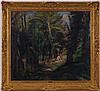 Emile Bernard (1868-1941),   La cueillette des fleurs aux Templiers , huile sur toile, signée et datée (19)20, 79x89 cm, Emile Bernard, CHF2,000