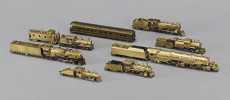 Écartement OH lot de 7 locomotives ...
