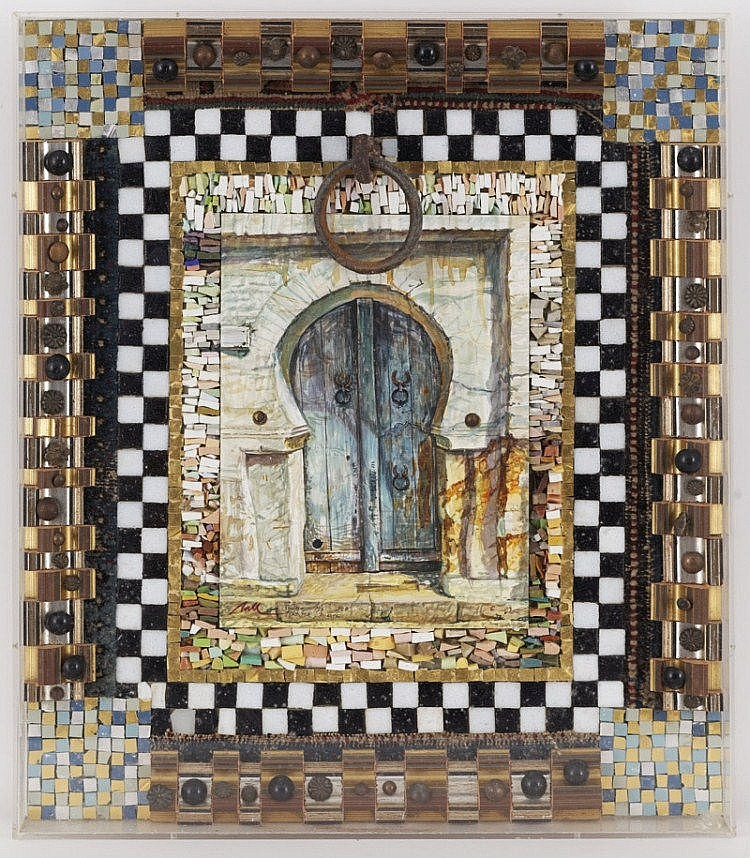 Fred Nall (1948) Door in Sousse
