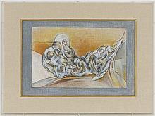 "Simonetta Jung (1917-2005)"", """"Onto-rythmes ..."""