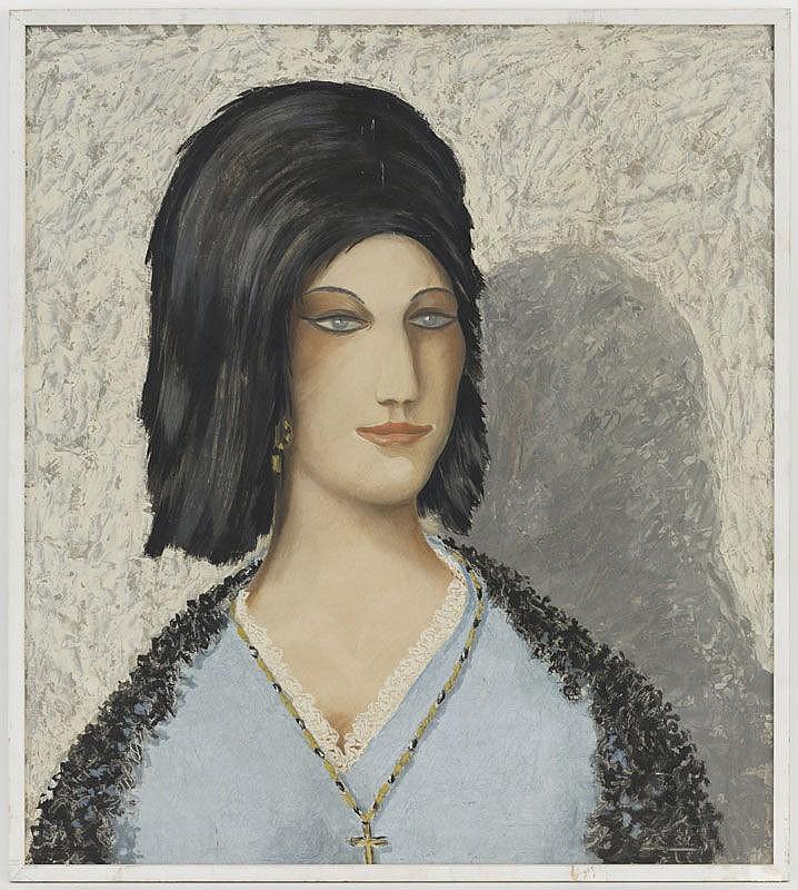 Georges Fustier (1892-1982), La polonaise,