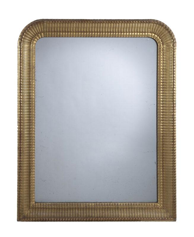 Miroir europe du nord xixe s cadre rectangulaire et ci for Cadre miroir