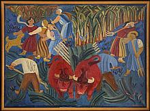 Maurice Louis Savin (1894-1973), Les boeufs