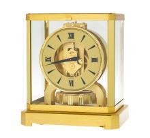 Jaeger-LeCoultre, Atmos, pendulette cabinet dorée