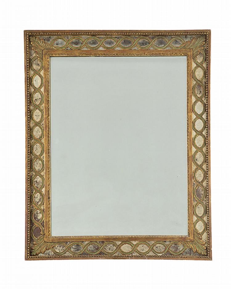 Miroir de style neoclassique xixe s cadre a parclose en b for Miroir au mercure