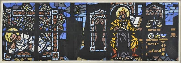 Tableaux  'Emilio Maria Beretta (1907-1974)