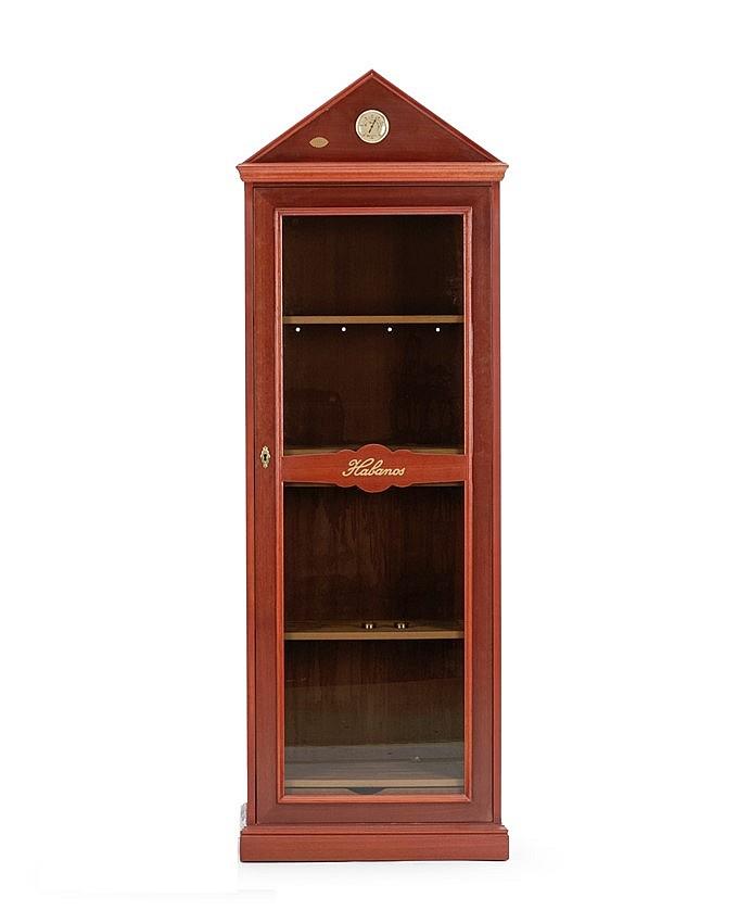 armoire cigare habanos placage d 39 acajou et int rieur en. Black Bedroom Furniture Sets. Home Design Ideas