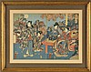 Utagawa Kuniteru (1808-1876) 2 estampes ...,  Kuniteru (1808), Click for value
