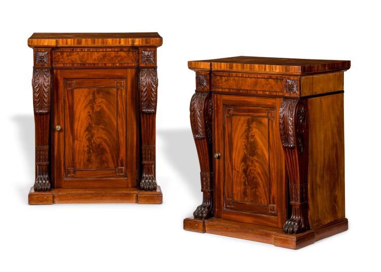 Paire de meubles d 39 entre deux angleterre fin xixe s en a - Rangement entre deux meubles ...