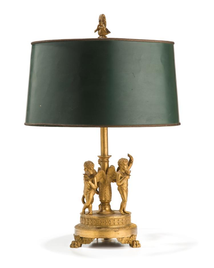 lampe bouillotte d 39 poque restauration en bronze cisel et d. Black Bedroom Furniture Sets. Home Design Ideas