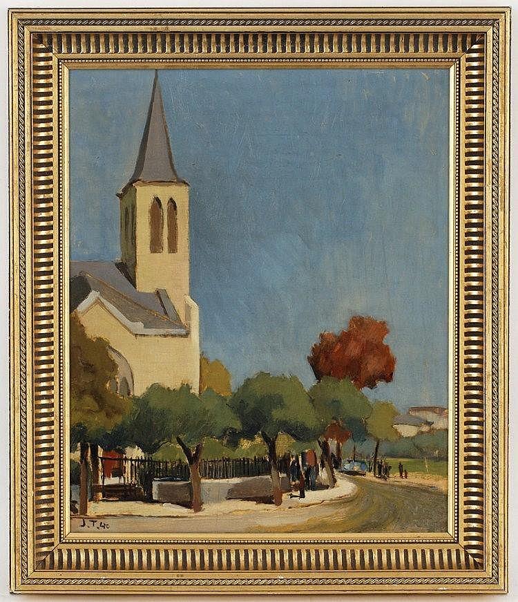 John Torcapel (1881-1965), L'Eglise de
