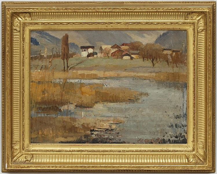 Tableaux - Édouard Gaspard Castres (1881-1964)